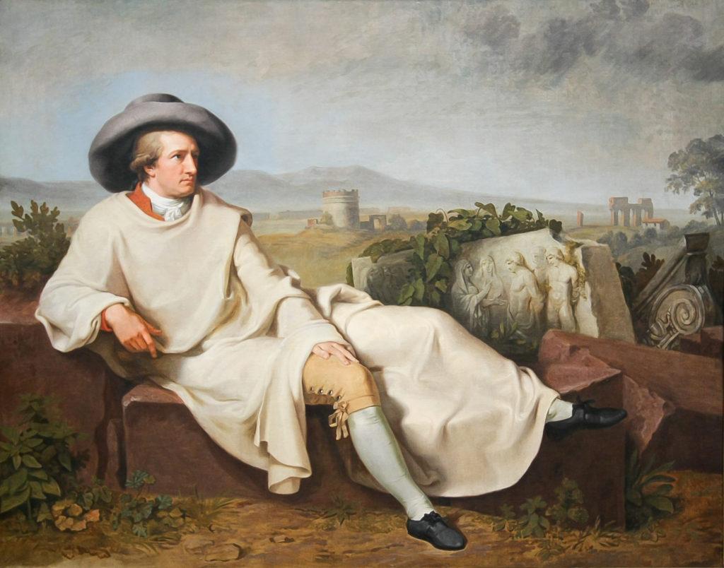 Johann Heinrich Wilhelm Tischbein_-_Goethe in der roemischen Campagna