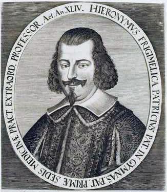 AF 04 Ritratto di Girolamo Frigimelica, 1653 - 1732 (Austria - Österreichische Nationalbibliothek. Herzog August, Bibliothek Wolfenbüttel )