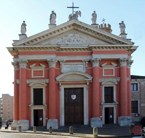 AF 11 Chiesa del Torresino, la facciata
