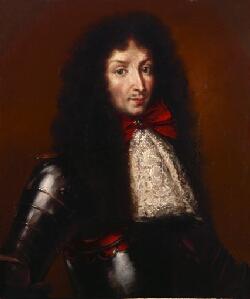 AF 12 Ritratto di Rinaldo d'Este, duca di Modena e Reggio e Cardinale 1695 - 1737 (Benedetto Gennari Junior, pittore italiano)