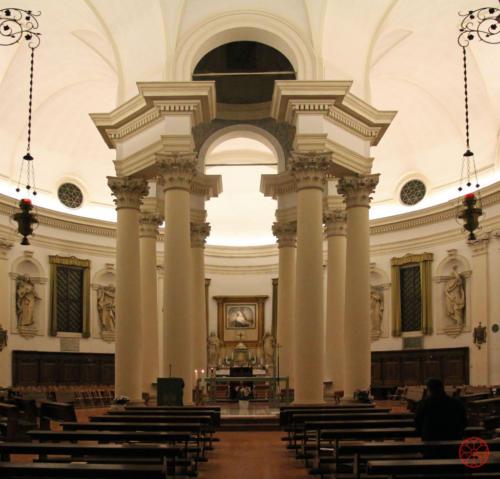 AF 22 Chiesa del Torresino, interno