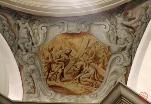 AF 28 Gesù che sale sul monte Calvario