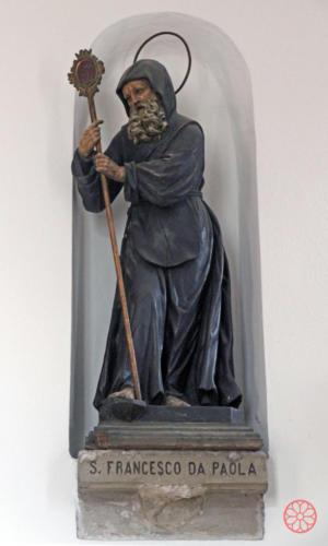 AF 31 San Francesco da Paola, scultura lignea