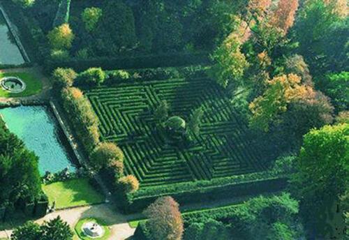 44 - Il Labirinto, particolare