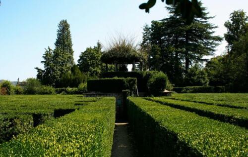 46 - Il labirinto, torretta centrale