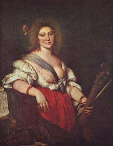 Barbara Strozzi (di Bernardo Strozzi)