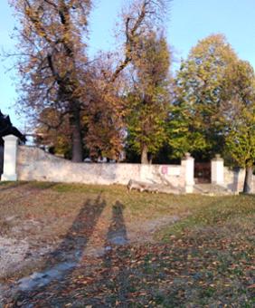 Este Slargo davanti al Convento dei Cappuccini dove soggiornò Shelley