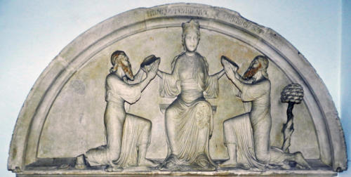 Fig. 001, Lunetta del portale