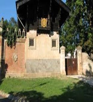 Ingresso Villa Kunkler sorta nell'aerea dell'ex Convento dei Cappuccini soppresso