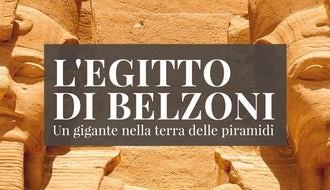 Locandina della Mostra su Belzoni Centro Culturale Altinate San Gaetano Padova 2020