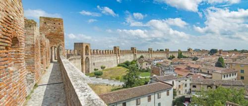 Veduta di Cittadella - La cinta muraria