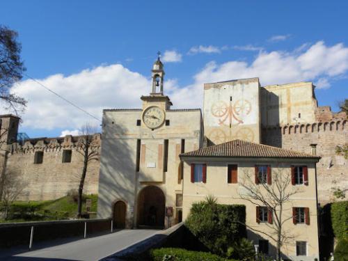 Veduta di Citadella - Una porta