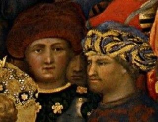Ritratti di Palla Strozzi (Gentile da Fabriano) e di Lorenzino de' Medici (Stefano Dall'Arzere)