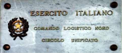 00 - La targa del Comando Logistico