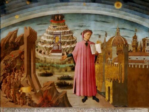 01 - Dante (Domenico di Michelino, Duomo di Firenze)