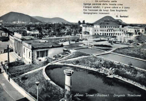 02 - Abano Terme, Sorgente naturale Montirone (Biblioteca Civica)
