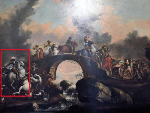 02 - Antonio Maria Marini, Attacco a un ponte. Musei civici agli Eremitani, Padova.