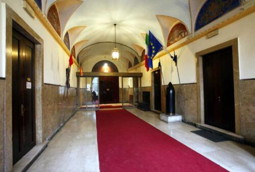 02 - Palazzo Zacco, l'ingresso