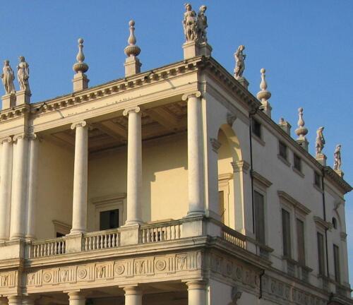 03 - Palazzo Chiericati, particolare della Loggia