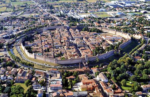 04 - Cittadella, veduta della cinta muraria