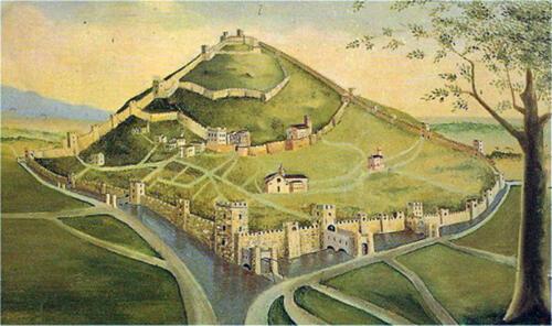 04 - Moneslice, città murata (ricostruzione)