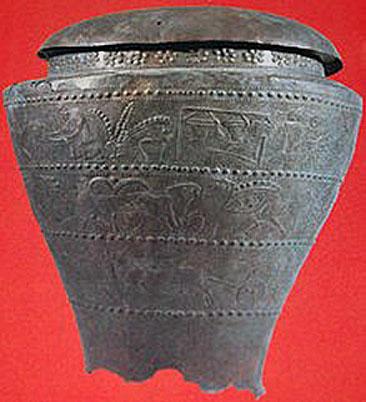 05 - Situla Benvenuti del VII sec. A. C.  - Considerata il simbolo della civiltà venetica di Este (Museo Nazionale Atestino (1)