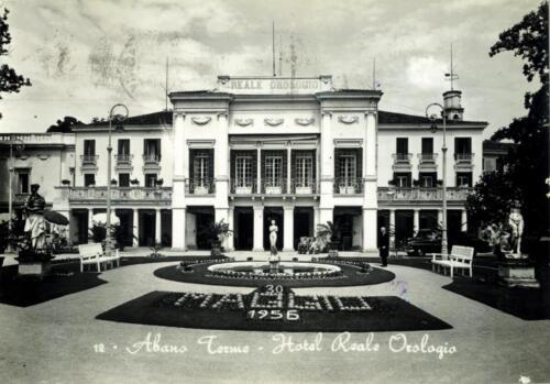06 - Lo storico-Hotel Reale Orologio (1956)