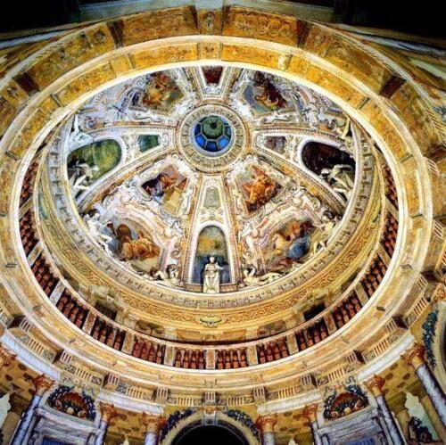 09 - La Rotonda (VI) Interno della cupola