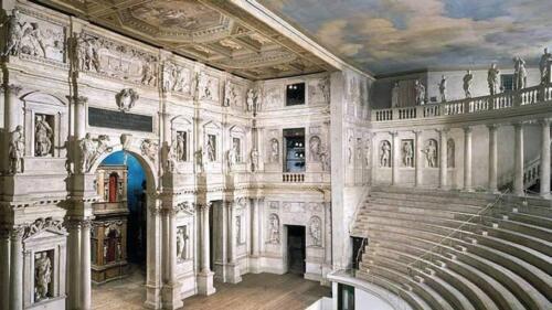 10 - Vicenza, Teatro Olimpico (1580)