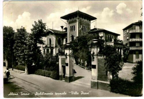 11 - Abano Terme Anni '50 (Pd), Stabilimento Termale Villa Piave