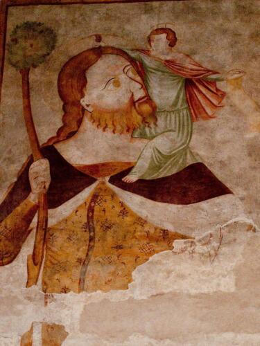 11 - San Cristoforo, particolare