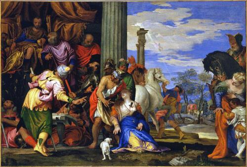 11  - Martirio di Santa Giustina di Paolo Veronese