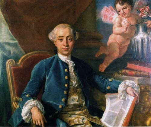 12 - Ritratto di Giacomo Casanova (attribuito a Anton Raphael Mengs)