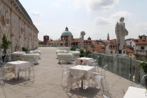 17 - Basilica Palladiana, la terrazza