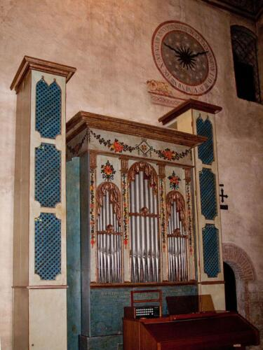 21 - Organo e meridiana