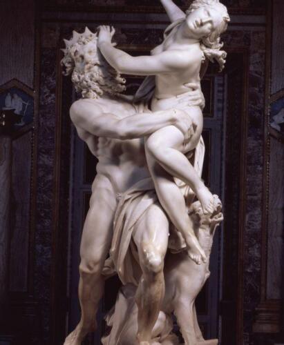Foto 03 - Il ratto di Proserpina di Gianlorenzo Bernini. (Roma, Galleria Borghese)