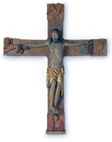Foto 04 - Il Crocifisso del XIII secolo proveniente dalla Chiesa di San Vito (1)