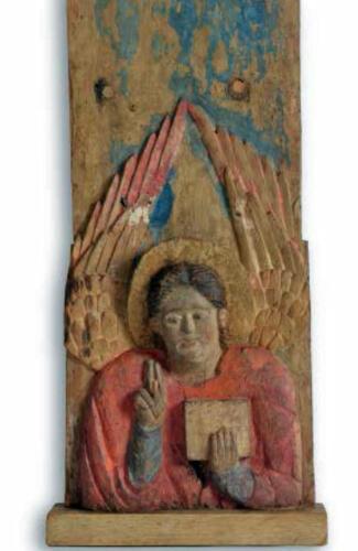 Foto 05 - particolare dell'estremità inferiore della croce con l'Angelo (1)