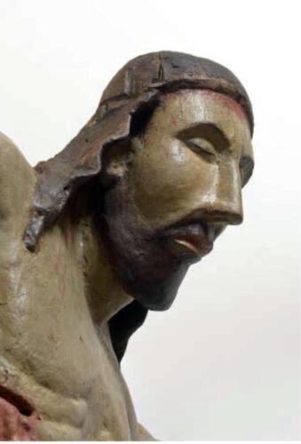 Foto 06 - particolare del volto di Cristo (1)