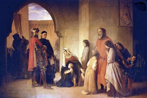 06 - Hayez, Alberico da Romano si dà prigioniero