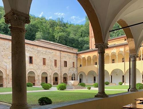 03 - Il Chiostro del Santuario (Foto Marta Celio)