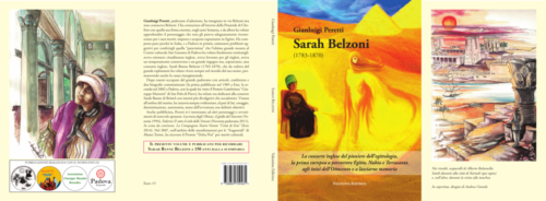 Peretti Autore copertina sarah belzoni testo