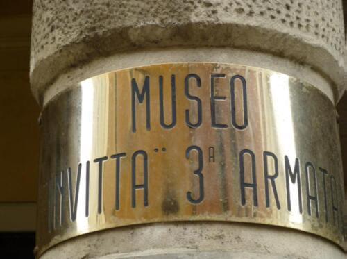Targa Museo III Armata